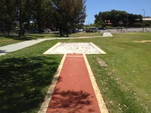 Retech Rubber Perth WA - Long Jump